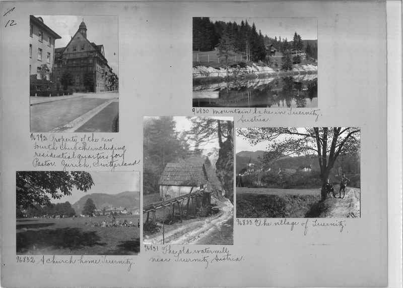 Mission Photograph Album - Europe #09 Page 0012