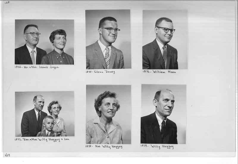 Mission Photograph Album - Portraits #11 Page 0128