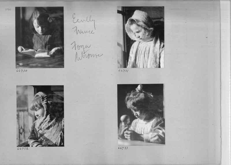 Mission Photograph Album - Europe #05 Page 0190