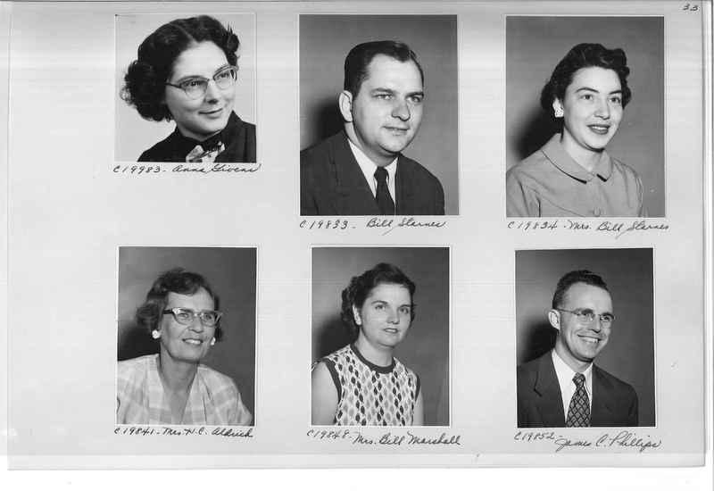 Mission Photograph Album - Portraits #09 Page 0033