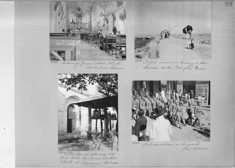 Mission Photograph Album - Panama #04 page 0115