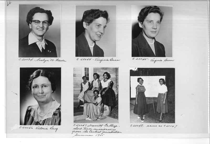 Mission Photograph Album - Portraits #09 Page 0044