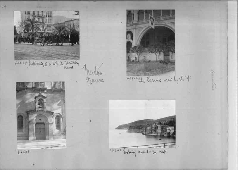 Mission Photograph Album - Europe #05 Page 0074