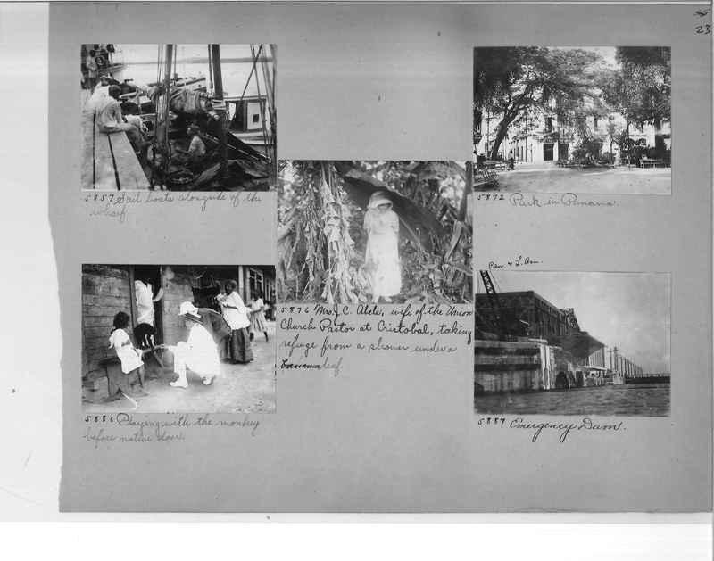 Mission Photograph Album - Panama #1 page  0023