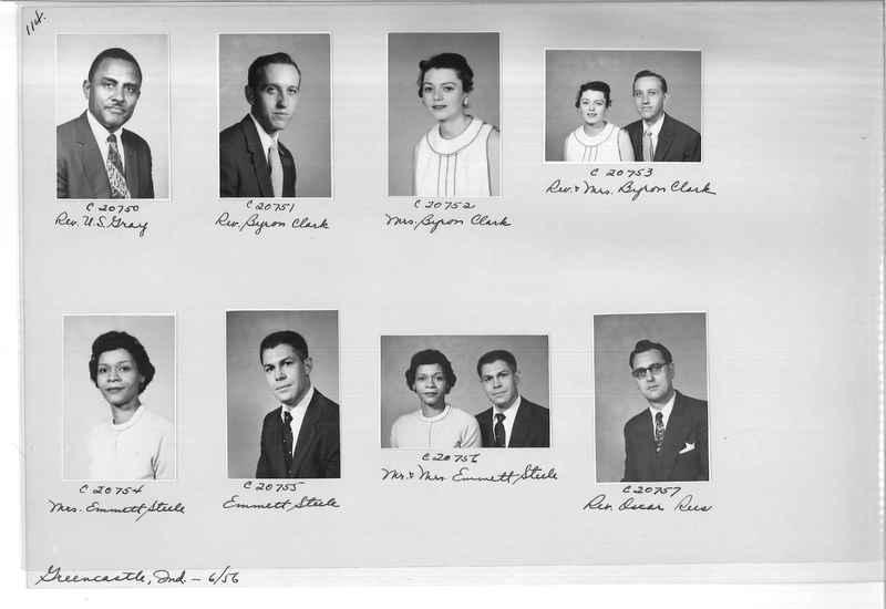 Mission Photograph Album - Portraits #09 Page 0114