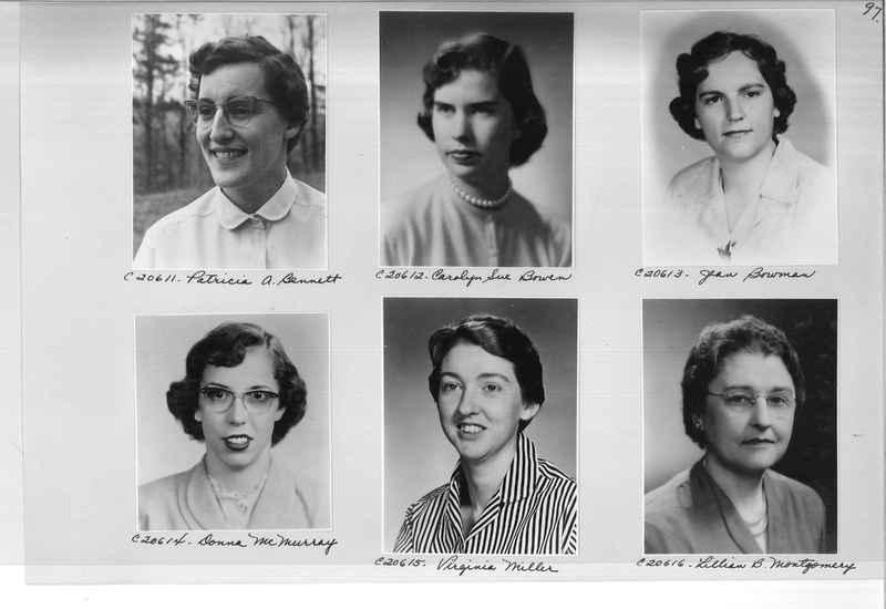 Mission Photograph Album - Portraits #09 Page 0097