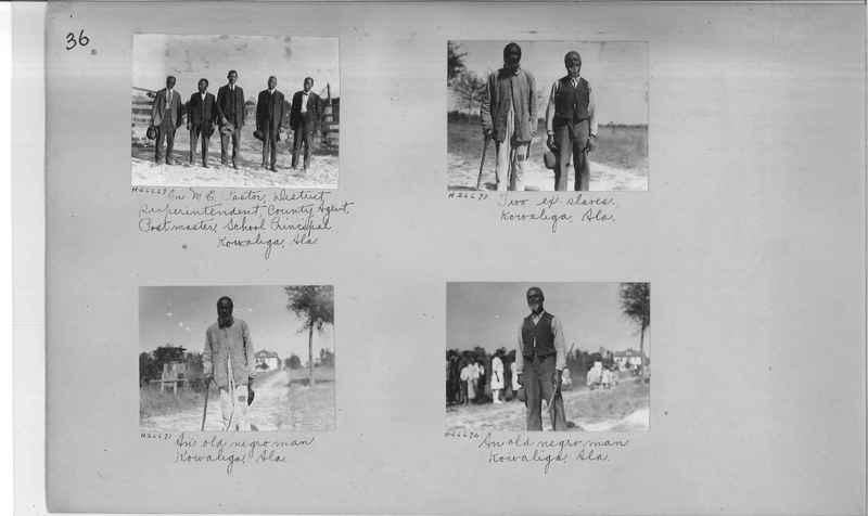 Mission Photograph Album - Negro #4 page 0036