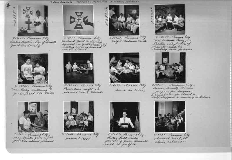 Mission Photograph Album - Panama #05 page 0004