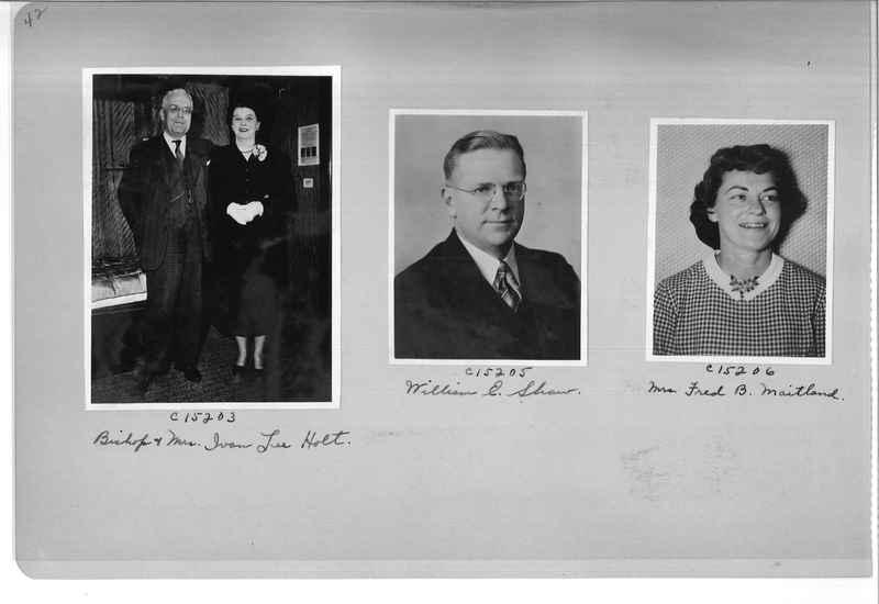 Mission Photograph Album - Portraits #07 Page 0042