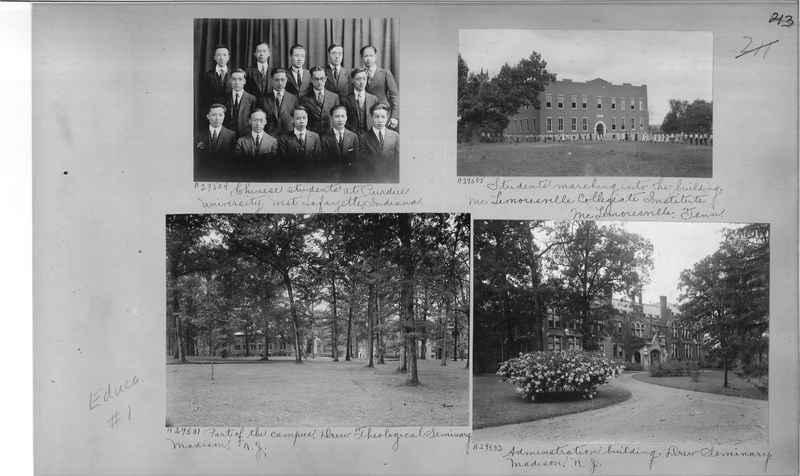 Mission Photograph Album - Education #1 page 0213