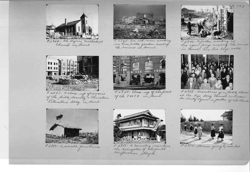 Mission Photograph Album - Korea #6 page 0103