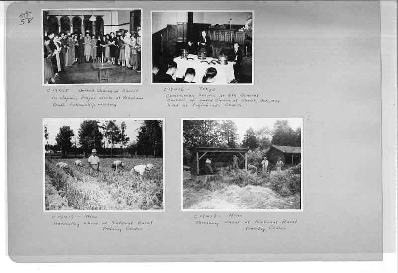 Mission Photograph Album - Japan #07 Page 0058