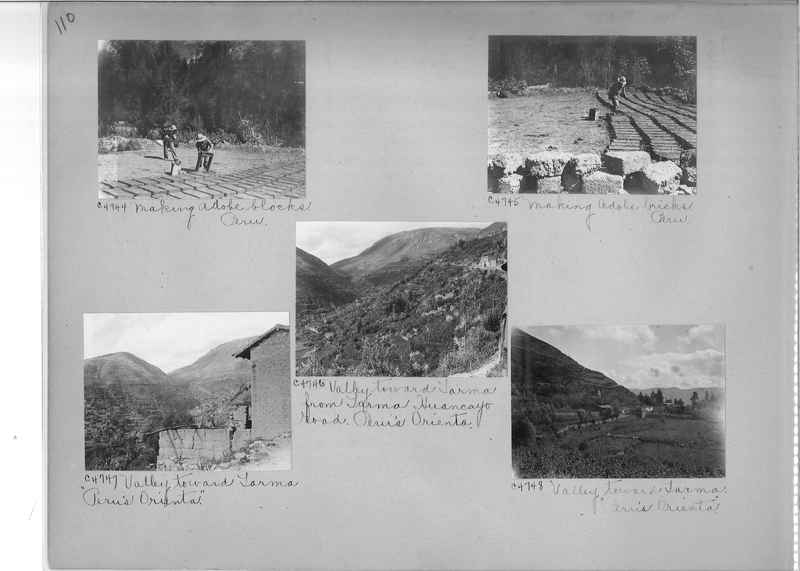 Misson Photograph Album - South America #8 page 0110