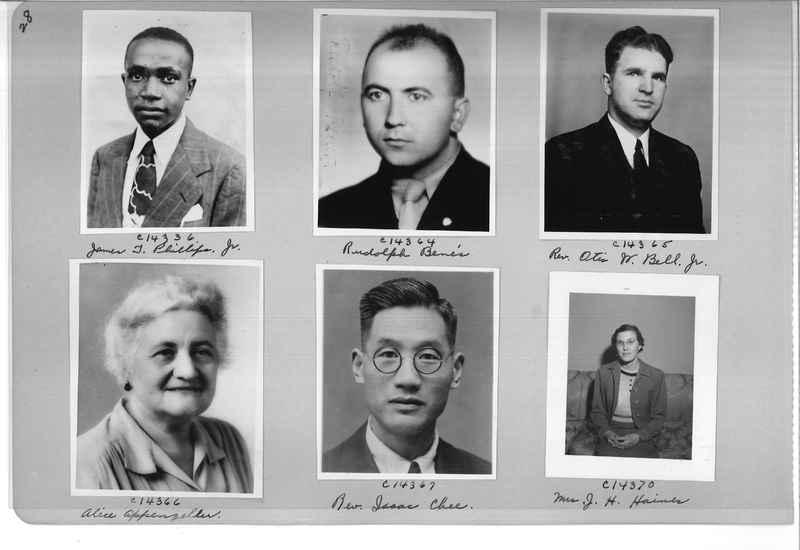 Mission Photograph Album - Portraits #07 Page 0028