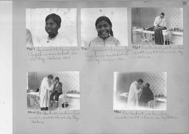 Misson Photograph Album - South America #8 page 0071