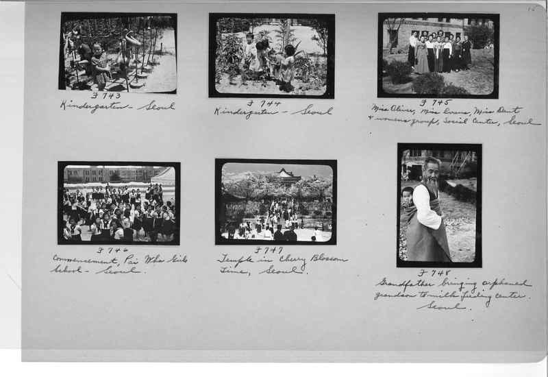 Mission Photograph Album - Korea #6 page 0015
