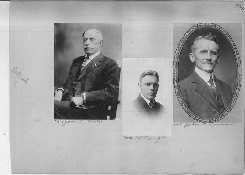 Mission Photograph Album - Portraits #3 page 0057