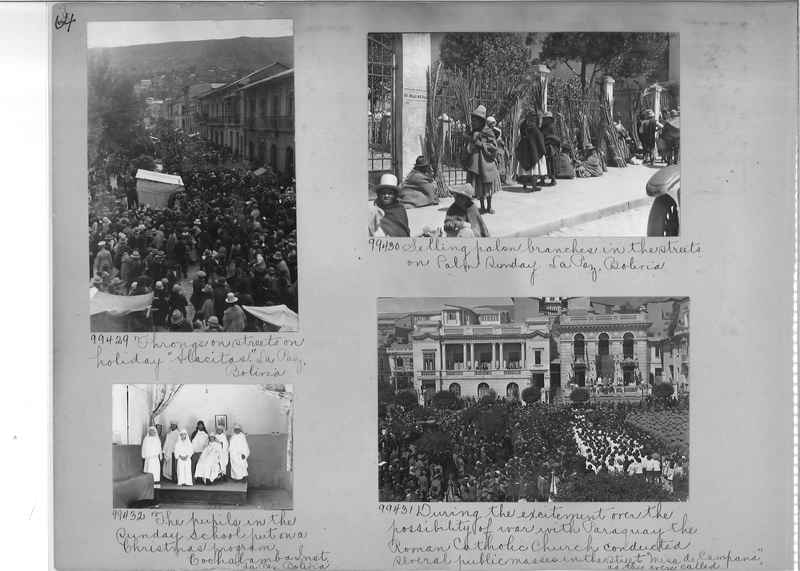 Misson Photograph Album - South America #8 page 0064