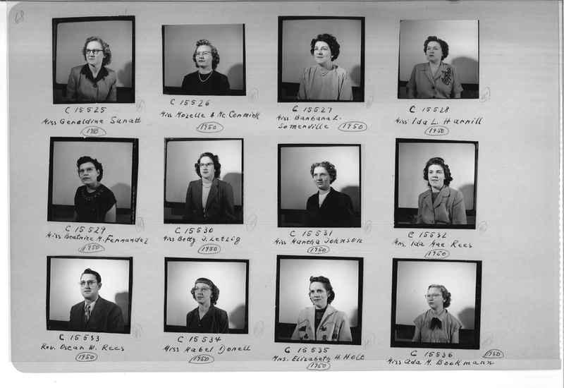 Mission Photograph Album - Portraits #07 Page 0068