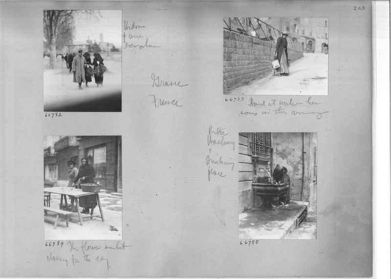 Mission Photograph Album - Europe #05 Page 0203