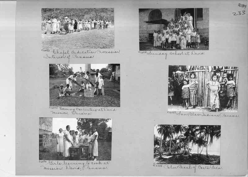 Mission Photograph Album - Panama #04 page 0233