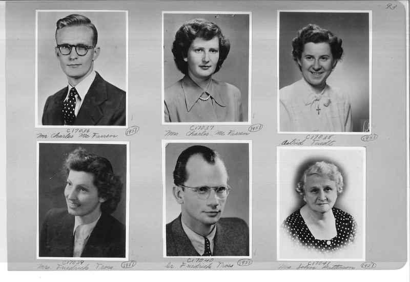 Mission Photograph Album - Portraits #07 Page 0093