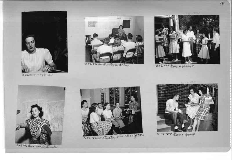 Mission Photograph Album - Portraits #13 Page 0019