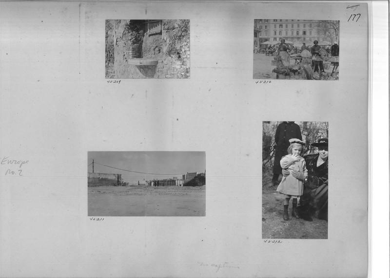 Mission Photograph Album - Europe #02 Page 0177