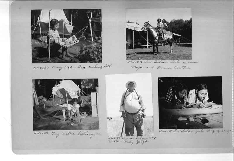 Mission Photograph Albums - Indians #3 Page_0006