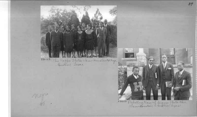 Mission Photograph Album - Negro #5 page 0039