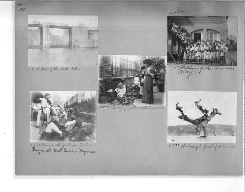 Mission Photograph Album - Panama #1 page  0014