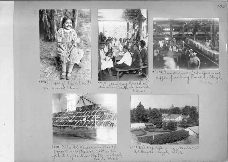 Misson Photograph Album - South America #8 page 0105