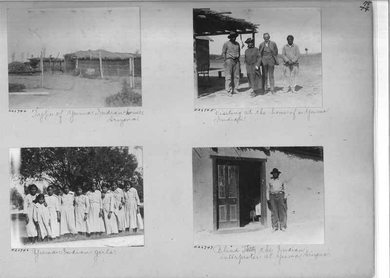 Mission Photograph Album - Indians #2 page_0075