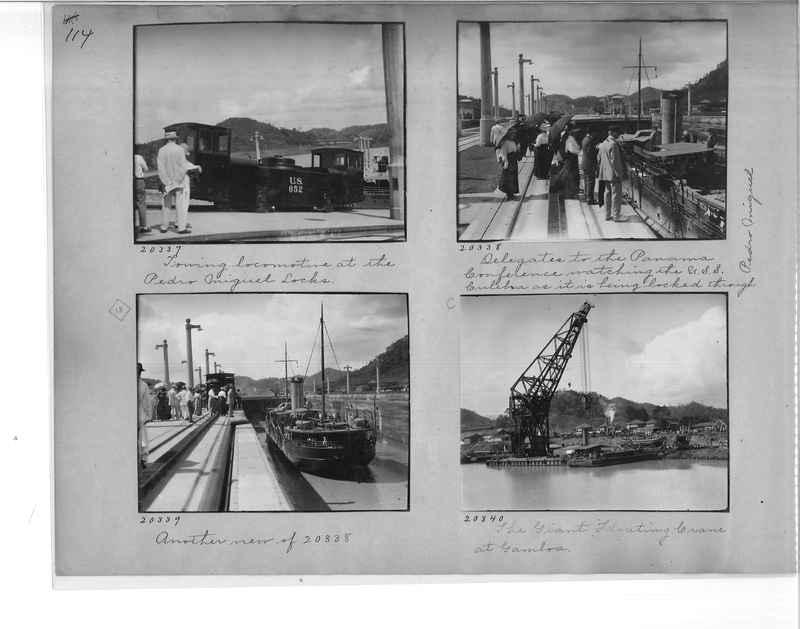 Mission Photograph Album - Panama #1 page  0114