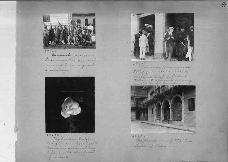 Mission Photograph Album - Panama #02 page 0091