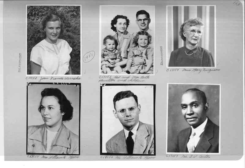 Mission Photograph Album - Portraits #07 Page 0113
