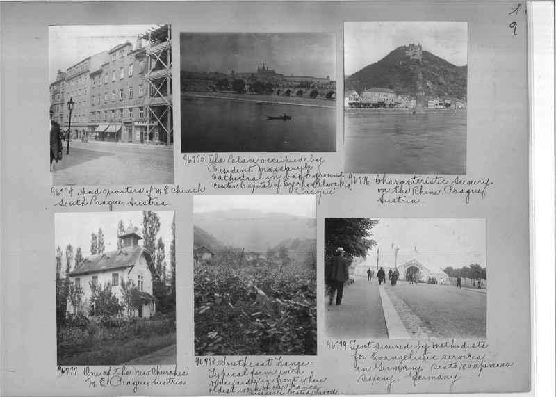 Mission Photograph Album - Europe #09 Page 0009