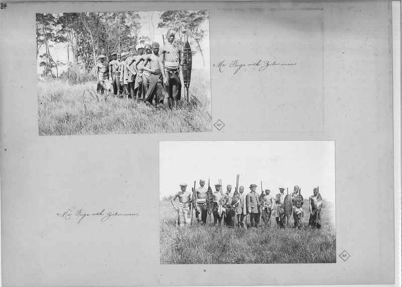 Mission Photograph Album - Africa O.P. #4 page 0084