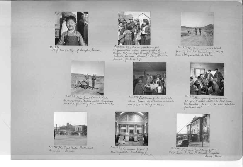 Mission Photograph Album - Korea #6 page 0005