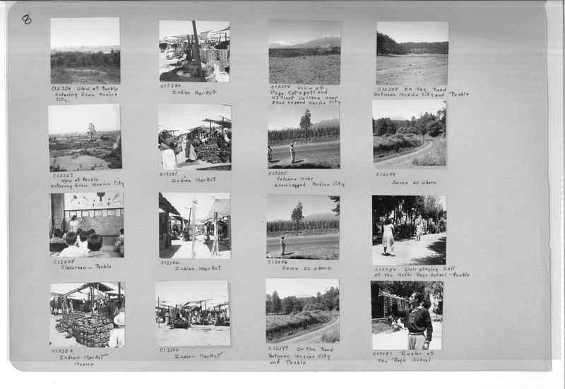 Mission Photograph Album - Mexico #09 Page 0008