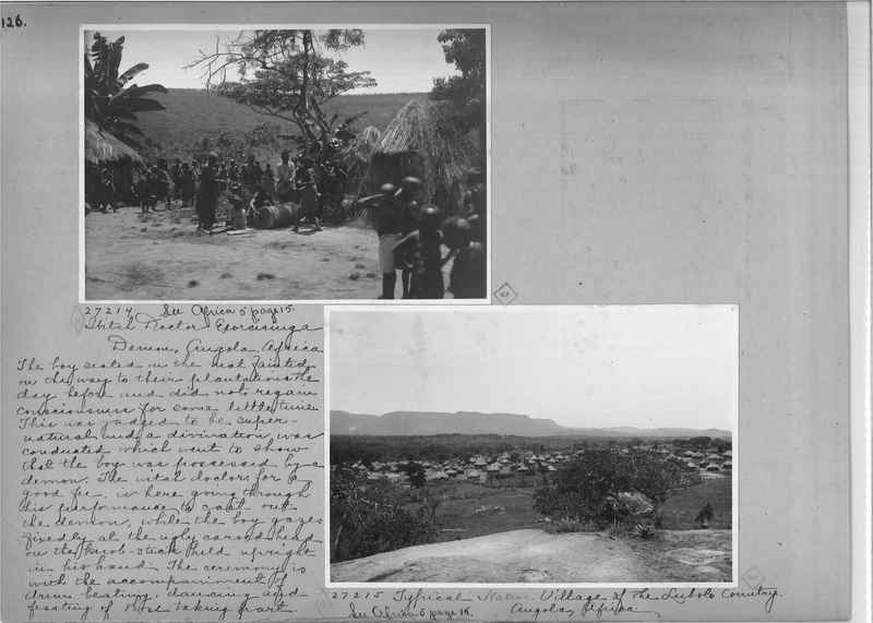 Mission Photograph Album - Africa - Madeira O.P. #1 page 0126