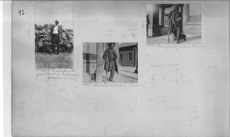 Mission Photograph Album - Negro #4 page 0092