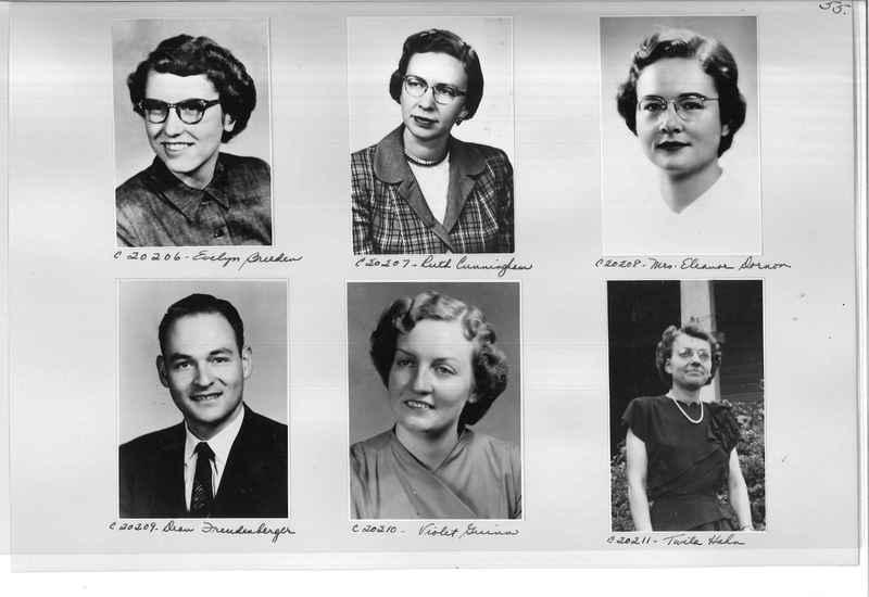 Mission Photograph Album - Portraits #09 Page 0055