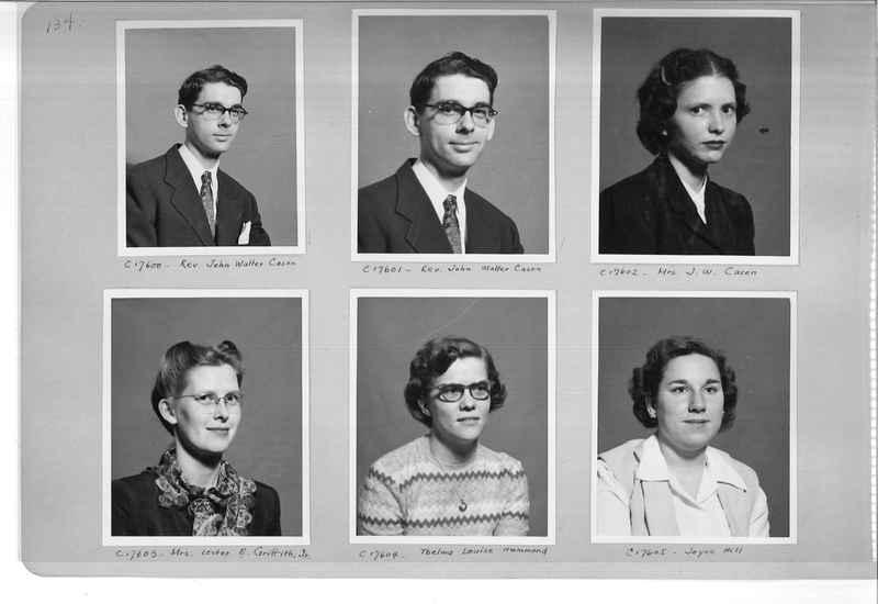 Mission Photograph Album - Portraits #07 Page 0134