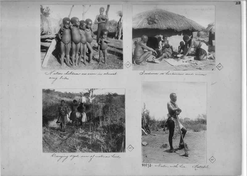 Mission Photograph Album - Africa O.P. #4 page 0023