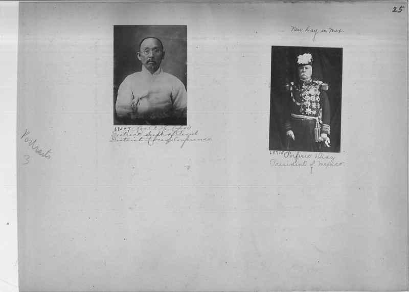 Mission Photograph Album - Portraits #3 page 0025
