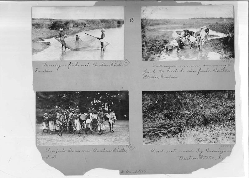 Mission Photograph Album - India - O.P. #02 Page 0033