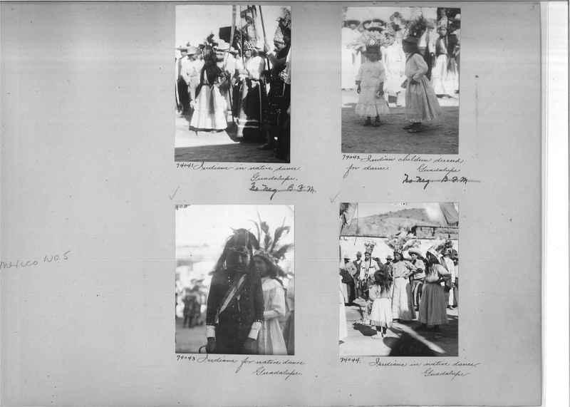 Mission Photograph Album - Mexico #05 page 0005