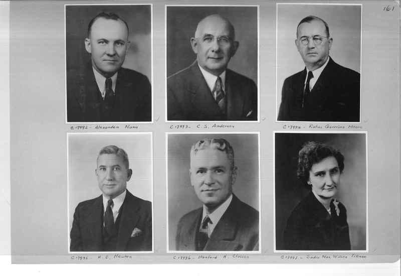Mission Photograph Album - Portraits #07 Page 0161