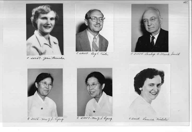Mission Photograph Album - Portraits #09 Page 0045